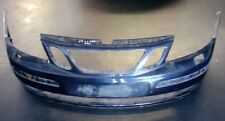 SAAB 9-3 93 Front Bumper Cover ONLY 2003-2007 Colour: 257 Midnight Blue 12787218