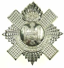 RHF ROYAL HIGHLAND FUSILIERS CLASSIC PIPERS GLENGARRY LARGE REGIMENTAL BADGE
