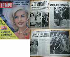 TEMPO 1962 e 1963 JAYNE MANSFIELD