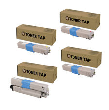 Replacement Compatible OKI Data MC363dn Toner (4 Pack, KCMY)