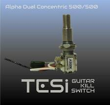 Tesi Alpha Dual Concentric Potentiometer 500k/500k with Center Detent