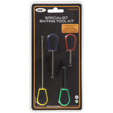 Baiting Needle Set 4 Piece Hook Drill Boilie Stringer Bait NGT Carp Fishing