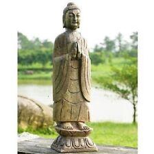 Large Garden Home Buddha Statue Sculpture Art Meditating Zen  Decor 27-Inch High