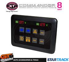 KT COMMANDER SMART TOUCH SCREEN 8 WAY SWITCH PANEL 160 AMP KT70954 Landcruiser