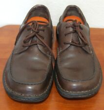 MERRELL Tetra Lace Brown Leather Casual Oxfords Women's 8.5 39 Ortholite Air