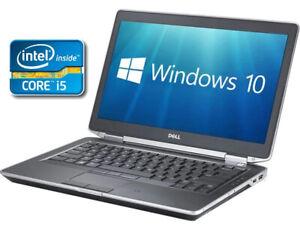 """Dell Latitude 14"""" Laptop - 3rd Gen Core i5 8Gb RAM 500GB Windows 10 HDMI"""