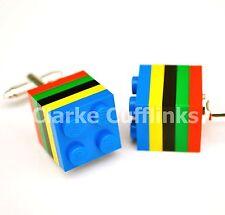 Olympic Games LEGO Cufflinks, Wedding, Sports, Athletics, GB