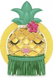 Bath & Body Works Pineapple Car Fragrance Scentportable Visor Clip Brand New