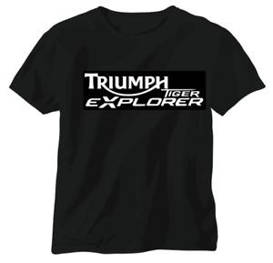 Triumph vintage British T shirt motorbike motorcycle biker Tiger