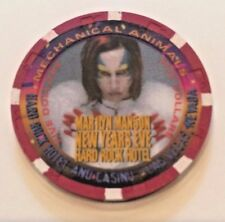 Hard Rock Hotel $5.00 Casino Chip Marilyn Manson