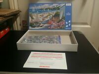 HOP 1000 PIECE JIGSAW PUZZLE 'DRIFTWOOD BAY', COMPLETE