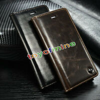 New Hot iPhone5/5S SE 6& 6 Plus Leather Wallet Card Holder Flip Stand Case Cover