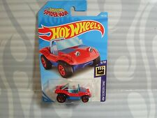 2019 HOT WHEELS ''HW SCREEN TIME'' #146 = SPIDER-MOBILE = RED & BLUE ,  int