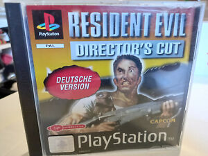 Resident Evil - Director's Cut (Sony PlayStation 1 / Ps1,1997) Neuwertig selten