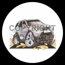 Koolart 4x4 4 x 4 Spare Wheel Graphic Honda Crv Sticker 1562