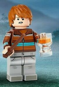 LEGO HARRY POTTER MINIFIGURES SERIES 2 ( 71028 ) RON WEASLEY RESEALED FREE P&P
