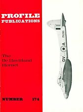 DE HAVILLAND HORNET: PROFILE PUBLICATIONS No.174/ NEW PRINT FACSIMILE EDITION