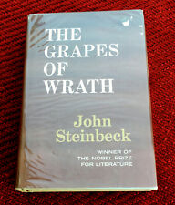 THE GRAPES OF WRATH BY JOHN STEINBECK c1962 HC/DJ BOOK CLUB EDITION