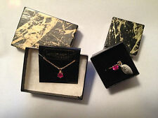Lindenwold Ruby Jewelry Set * 9943001 * FREE SHIPPING*