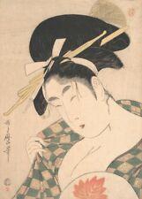 A Courtesan KITAGAWA UTAMARO Japan, 1700's, ukiyo-e prints