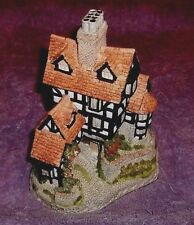 """David Winter Cottages """"Squires Hall"""" with Box,"""