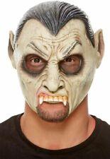 Vampir Latex Maske Erwachsene Halloween Kostüm Zubehör Neu