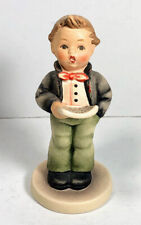 Hummel Goebel Soloist Boy Singing Figurine 1985 135 Tmk 3 Pre-Owned