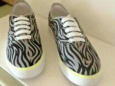 Zebra Canvas Trainers for Women | eBay
