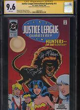 Justice League International Quarterly #11 CGC 9.6 2x SS McGreal & Rawson 1993