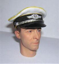 Banjoman 1:6 Scale Custom WW2 German Luftwaffe Officer's Summer Cap