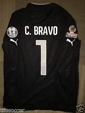 Claudio Bravo Copa AmÉRica 2015 Match Unworn Black Gk Shirt