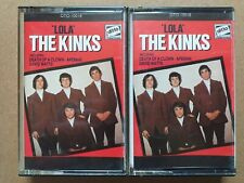 The Kinks - Lola original Ditto Audio Cassette Tapes X2