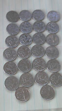 COMPLETE BERMUDA CIRCULATED DIME COLLECTION 1970-2008 26 DIFFERENT DATES Coins