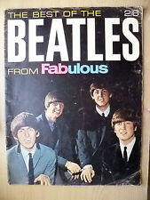 Beatles The Best Of The BEATLES From Fabulous~D Berwin, England by Sun Printers