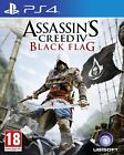 PS4 PlayStation 4 Assassin's Creed IV: Nero Flag NUOVO SIGILLATO GIOCO