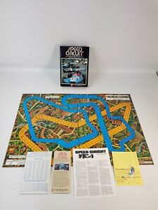 Speed Circuit Board Game Complete New Unpunched Unused Vintage Avalon Hill