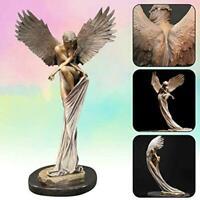 Redemption Angel Resin Sculpture Photo Prop Bookcase Statue Home Decor New Art