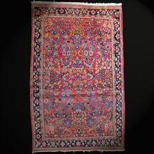 Age,Véritable Saroouk Orient-Teppich Couleur Naturelles Noué à la Main Laine