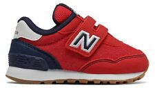 New Balance Infant 515 Hook and Loop Shoes Red