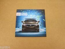 2012 Nissan Quest S SV SL LE Van Minivan sales brochure dealer catalog
