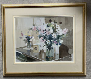 John Yardley RI Original Signed Watercolour Signed Framed With Provenance