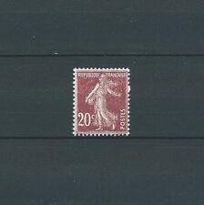 SEMEUSE - 1907 YT 139 - impression floue / dépouillée - TIMBRE NEUF** MNH