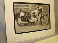 1952 BSA Star Twin   Motorcycle Exhibit From National Motorcycle Museum