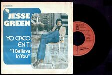 "JESSE GREEN - SPAIN SG 7"" EMI 1977 - I Believe In You / I Have Won You Babe"