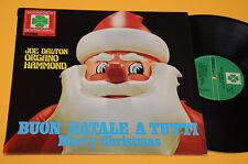 JOE DALTON ORGANO HAMMOND LP BUON NATALE A TUTTI ITALY 1973 NM