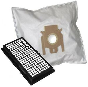 10 Vacuum Cleaner Bag + Hepa Filter For Miele S512 S 512 - (617_808)