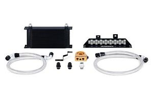 MISHIMOTO Oil Cooler Kit Black+Thermostat 13-15 Ford Focus ST 2.0L EcoBoost