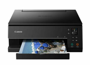 Canon PIXMA Home TS6360 Wireless Multifunction Inkjet Printer+Duplex Black