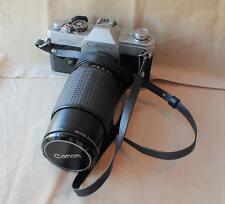 Canon FTb QL 35mm SLR Film Camera with 50mm lens kit,manual,strap