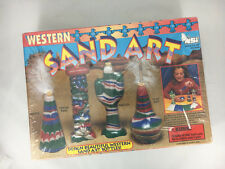 Western Sand Art Craft Toy New from Natural Science Industries Made in Usa